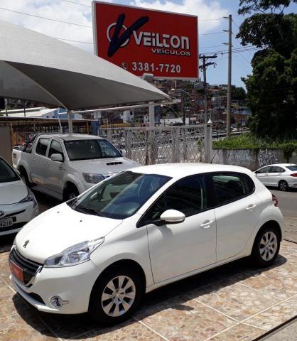 Peugeot 208 2015 1.5 Active Branco Unica Dona Emplacado