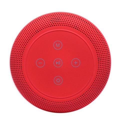 Caixa de Som Bluetooth Led 5w MY-002 Tomate Carregador por Indução Abajur Luminária - Foto 6