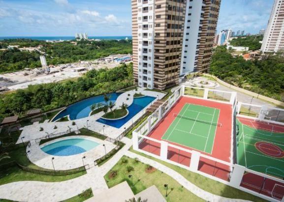 Apartamento Grenville Lumno 4 Suítes 225m2 Alto Decorado Nascente linda vista mar - Foto 20