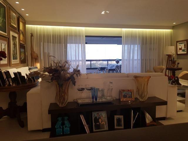 Apartamento Grenville Lumno 4 Suítes 225m2 Alto Decorado Nascente linda vista mar - Foto 2