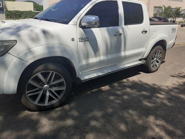 Rodas Toyota Hilux originais + pneus zeros - Foto 6