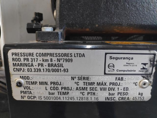 Compressor de ar 20 pcm Pressure - Foto 2