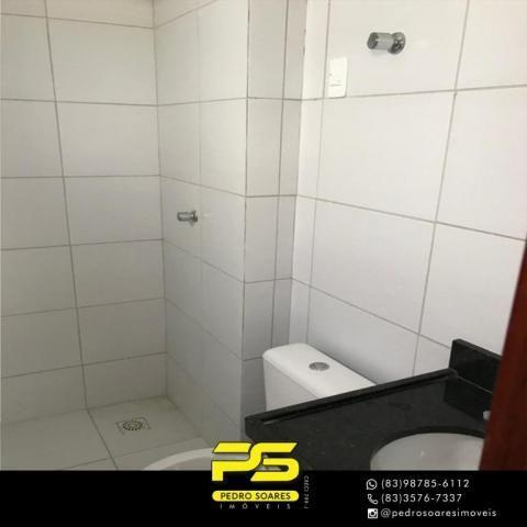 Apartamento com 2 dormitórios à venda, 61 m² por R$ 122.000 - Paratibe - João Pessoa/PB - Foto 10