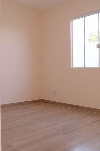Casa com 2 dormitórios, porém com opção para 3 dorms, averbada e nova no Santa Candida - Foto 16