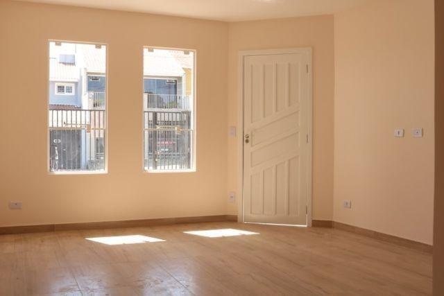 Casa com 2 dormitórios, porém com opção para 3 dorms, averbada e nova no Santa Candida - Foto 9
