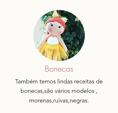 Armarinho São José: Amigurumi Boneca Manu   480x498