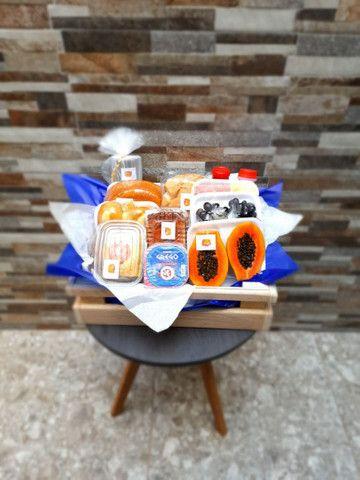 Box Cesta Café da manhã/ tarde - Foto 2