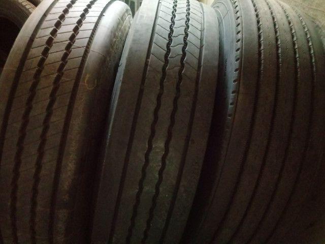 Pneus usados CAMINHÃO Kombi Passeios (inmetro e ISO9001) - Foto 7