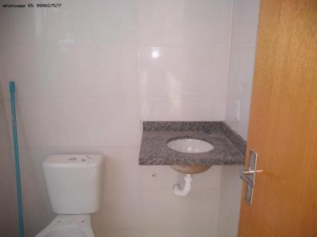 Casa para Venda em Várzea Grande, São Benedito, 2 dormitórios, 1 banheiro, 2 vagas - Foto 6