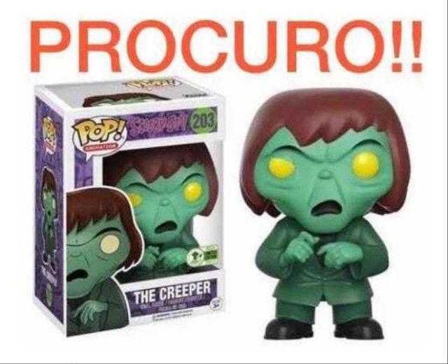 Funko pop the creeper Scooby doo Eccc2017