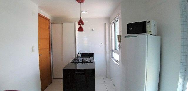 (AP0921) Apartamento beira mar, com 34m², 1 suíte, varanda vista mar - Tambaú - Foto 4
