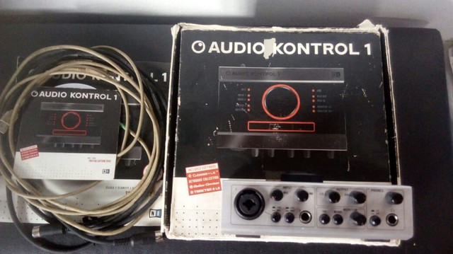 Interface de gravação Native Audio Kontrol 1 - Foto 3