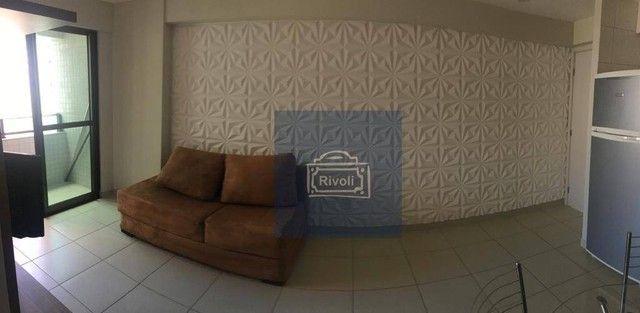 Apartamento com 1 dormitório para alugar, 35 m² por R$ 1.900/mês - Boa Viagem - Recife/PE - Foto 6