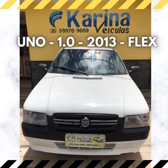 Uno Mille - 1.0 - 2013 - Flex - ótima oferta para um ótimo carro!!!