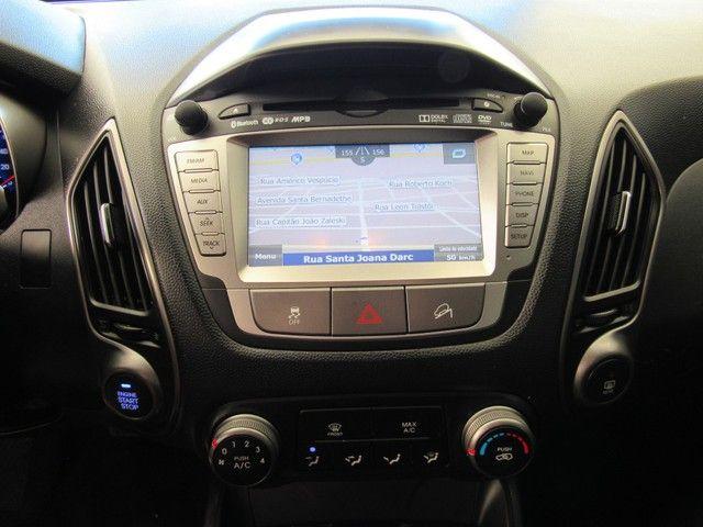 HYUNDAI IX35 2018 2.0 MPFI GL 16V FLEX 4P AUTOMÁTICA CINZA COMPLETA ÚNICO DONO! - Foto 11