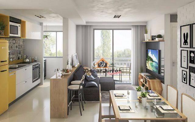 Apartamento com 2 dormitórios à venda, 49 m² por R$ 169.735,00 - Centro - Eusébio/CE - Foto 15