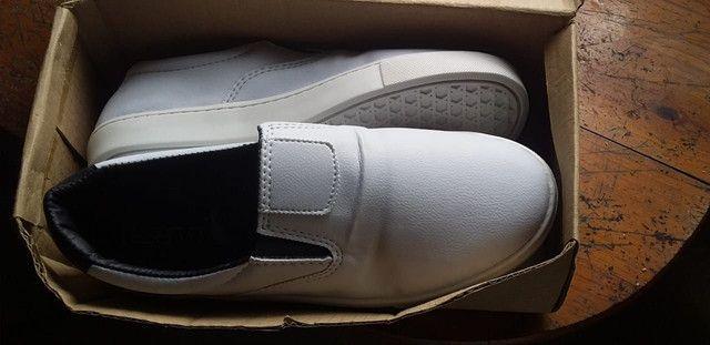 Sapato da Reserva branco. - Foto 2