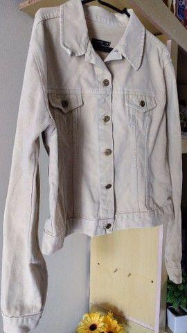 Jaqueta jeans feminina adulta  - Foto 2