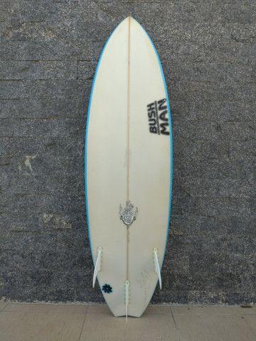"""Prancha de Surf BushMan 5'10"""" SemiNova - Foto 2"""