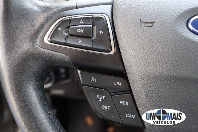 Lindo Ford Focus 1.6 SE flex manual 2017 cinza, completaço! - Foto 15