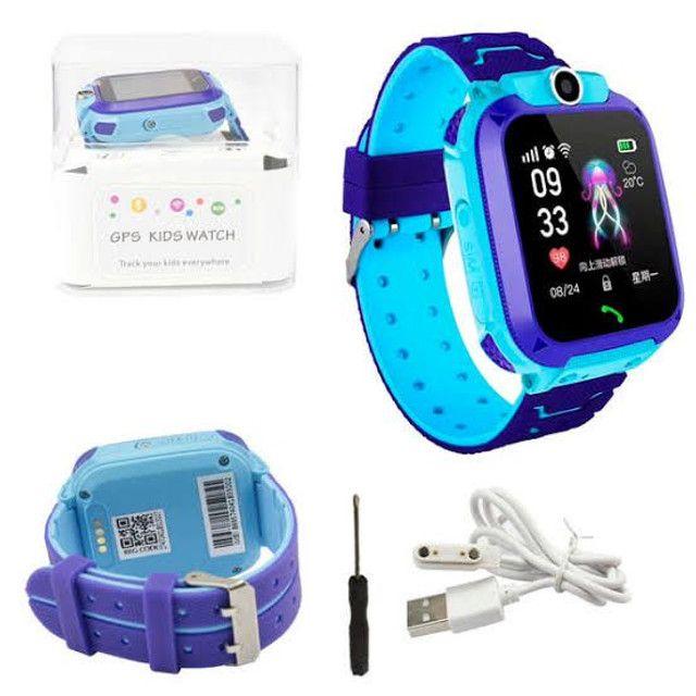 Relógio Inteligente Infantil Criança Rastreador C/câmera Anti-lost Sos Smartwatch