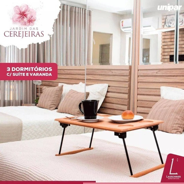 LP/ Mude-se ano que vem - Jardim das Cerejeiras - 2 e 3 quartos no Parque Dez - Foto 8