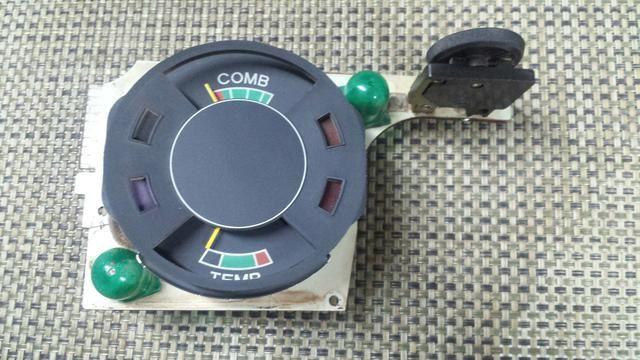 Marcador de gasolina temperatura placa de opala caravan 75 até 80 gm antigo