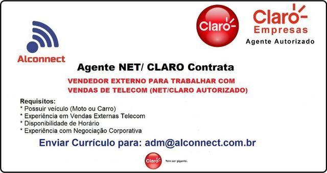 Vendedor Externo Telecom (Net/Claro Autorizado)