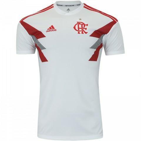 8a8a882c7a567 Camisa Original Pré-jogo 2018 Branca Flamengo Adidas - Roupas e ...