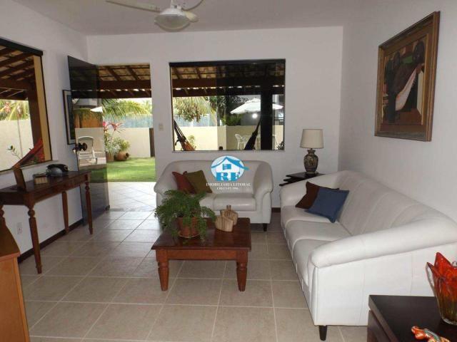 Casa de condomínio à venda com 4 dormitórios em Guarajuba, Guarajuba (camaçari) cod:33 - Foto 13