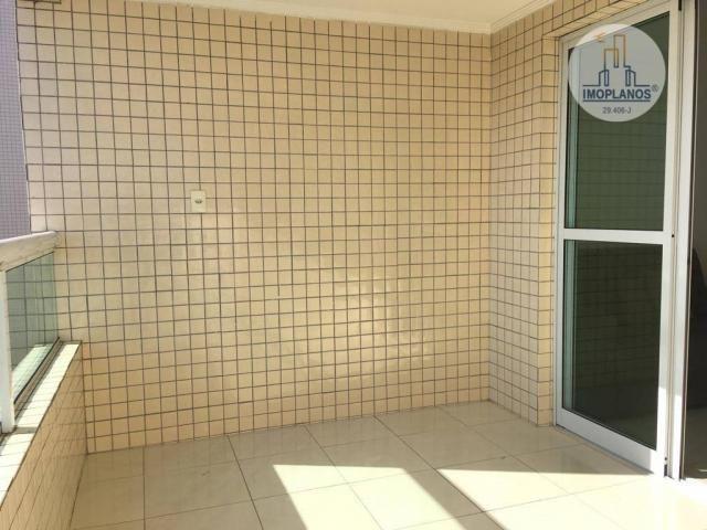 Apartamento com 2 dormitórios à venda, 76 m² por r$ 270.000 - campo da aviação - praia gra - Foto 6