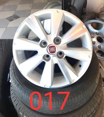 Rodas aro 14 Fiat liga leve no estado de gente - Foto 11
