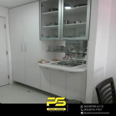 Apartamento com 2 dormitórios para alugar, 60 m² por R$ 3.500,00/mês - Tambaú - João Pesso - Foto 8