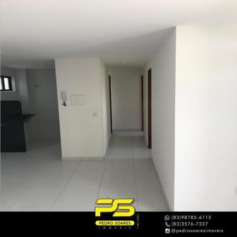 Apartamento com 2 dormitórios à venda, 61 m² por R$ 122.000 - Paratibe - João Pessoa/PB - Foto 2