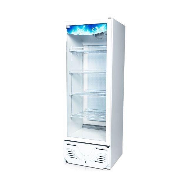 Expositor refrigerado uma porta p/ bebidas Novo Frete Grátis