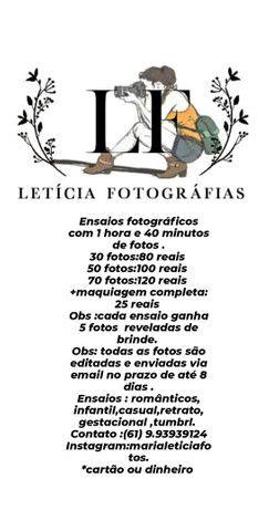 Ensaios fotográficos Gama DF