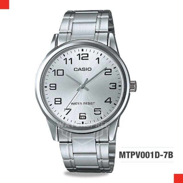 Relógio Casio modelo MTP-V001D-7B - Mod. 32 - 100% Original - Foto 5