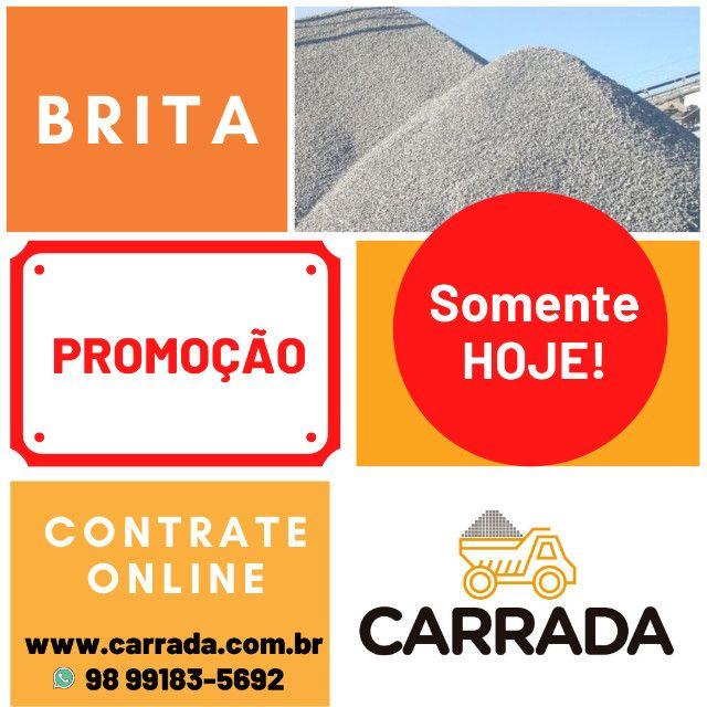 Carrada de Pedra Brita 1 - 5m³ (Reserve logo a sua) - Foto 2