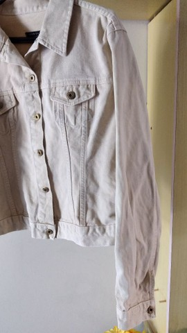 Jaqueta jeans feminina adulta  - Foto 3