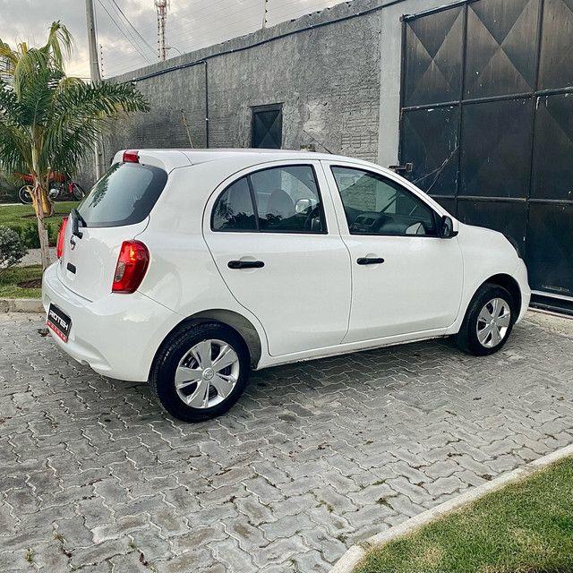 Nissan March S 1.0 Flex, Ano: 2019, Todo Completo (Estado de Okm!!!) - Foto 8