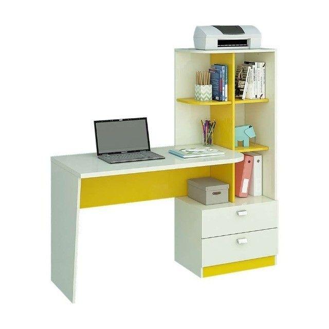 Promoção - Escrivaninha Mesa Computador com Estante - Apenas R$399,00