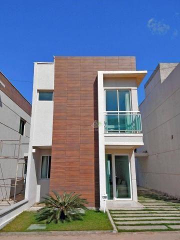 Sobrado à venda, 95 m² por R$ 350.000,00 - Mangabeira - Eusébio/CE
