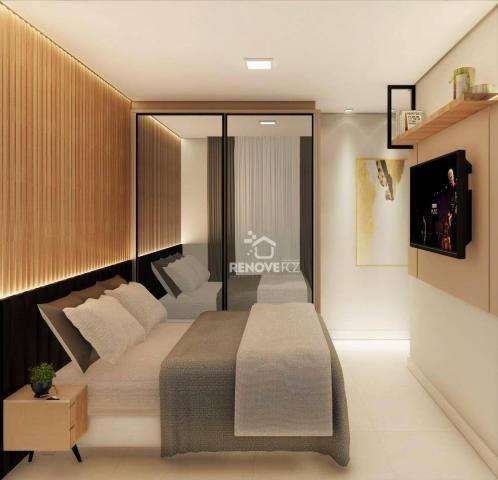 Apartamento com 2 dormitórios à venda, 64 m² - Centro - Foz do Iguaçu/PR - Foto 7