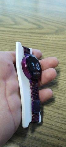 Relógio digital feminino touch watch - Foto 3