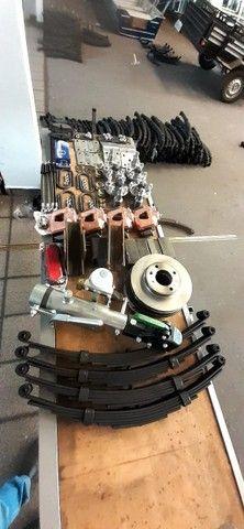 kit para carreta trucada com freio nas 4 rodas  - Foto 5