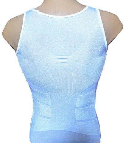 Camiseta Regata masculina diminuir barriga térmica perder peso  - Foto 2