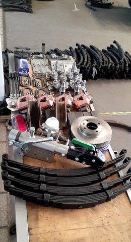 kit para carreta trucada com freio nas 4 rodas  - Foto 6
