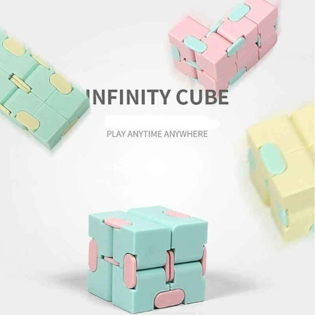 Cubo infinito - Fidget Toys Brinquedos Descompressivos