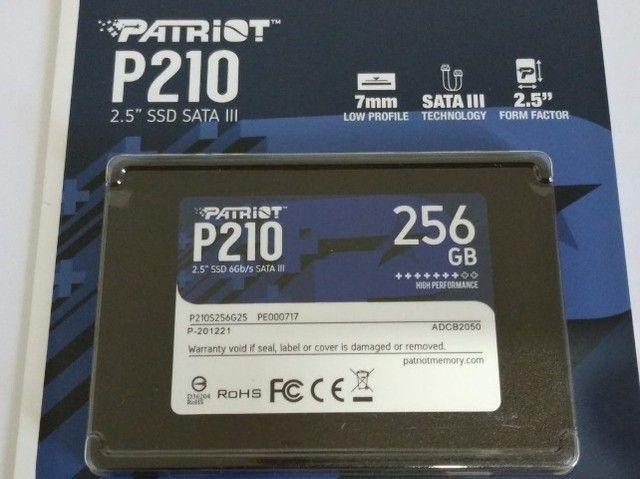 HD ssd Patriot P210 256gb Sata 3 540mb/s ? Lacrado - Foto 5