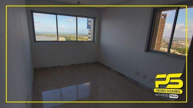 Apartamento com 4 dormitórios para alugar, 223 m² por R$ 7.100/mês - Altiplano - João Pess - Foto 8